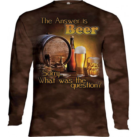 Beer Outdoor Long Sleeve T-Shirt