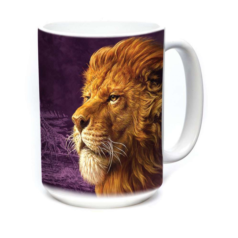 Ceramic Mug King of the Savanna