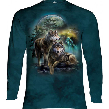 Wolf Lookout Long Sleeve T-Shirt