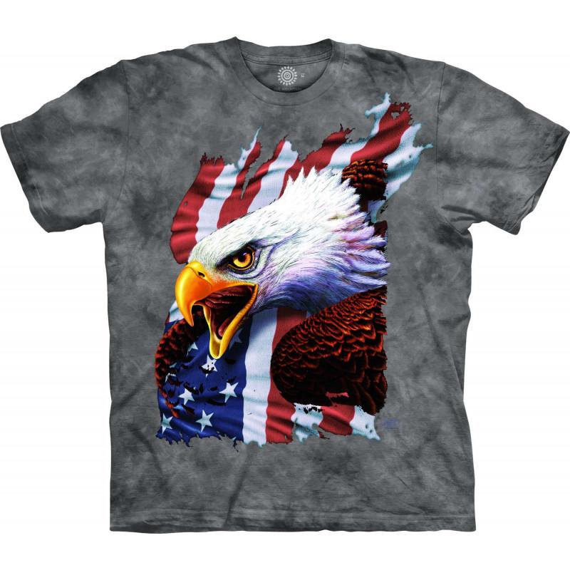 Patriotic Scream Eagle T-Shirt