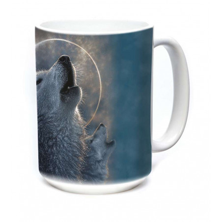 Ceramic Mug Wolf Eclipse