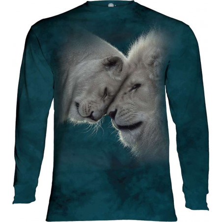 White Lions Love Long Sleeve T-Shirt