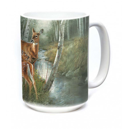 Ceramic Mug Birch Creek Whitetail