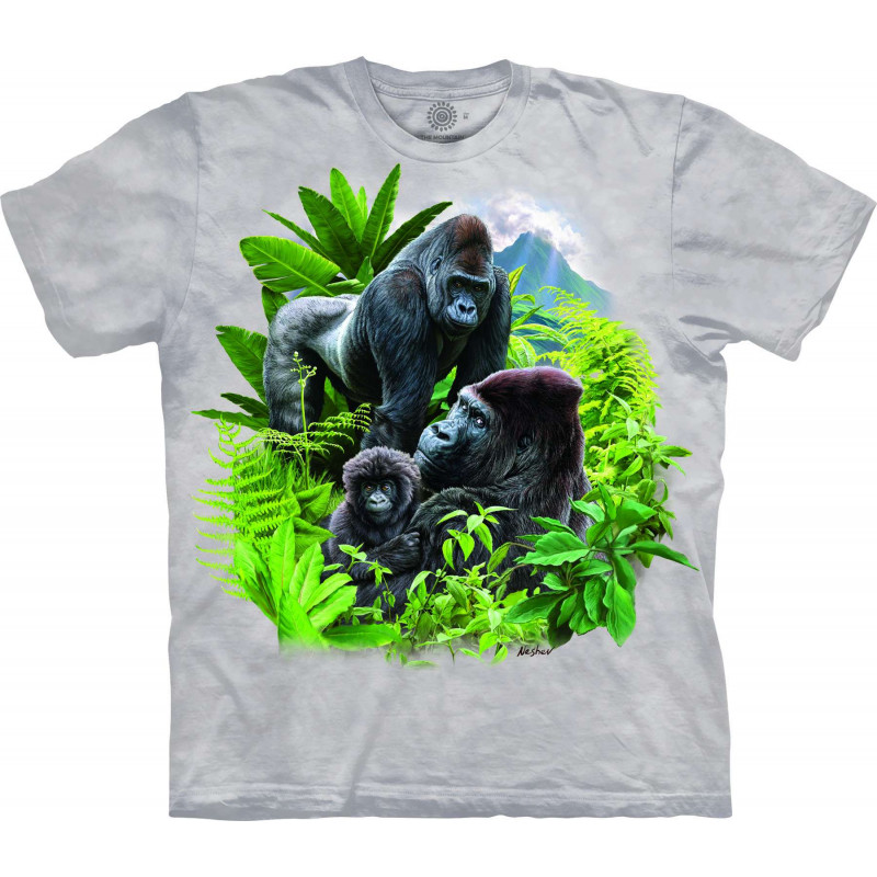 Gorilla Family T-Shirt