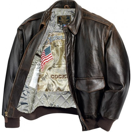 Cockpit USA Men Antique Lamb Jacket