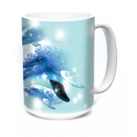 Ceramic Mug Dolphin Play