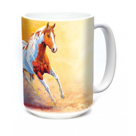 Ceramic Mug Sunset Gallop
