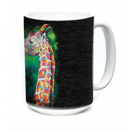 Ceramic Mug Painted Giraffe