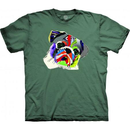 Rainbow Pug T-Shirt