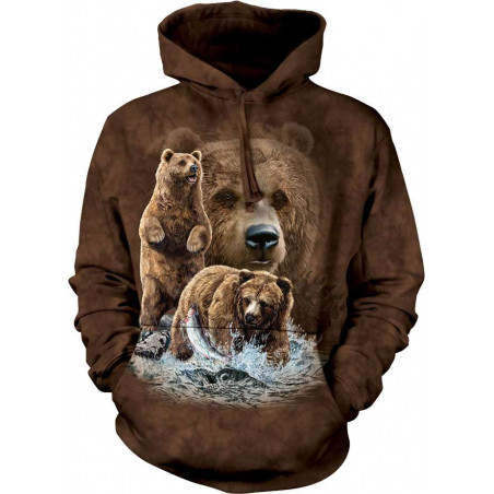 Find 10 Brown Bears Hoodie