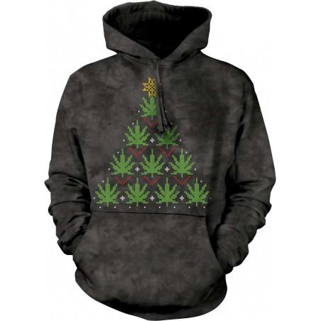 Christmas Cannabis Hoodie
