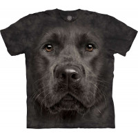 Black Lab Heavy Grey T-Shirt