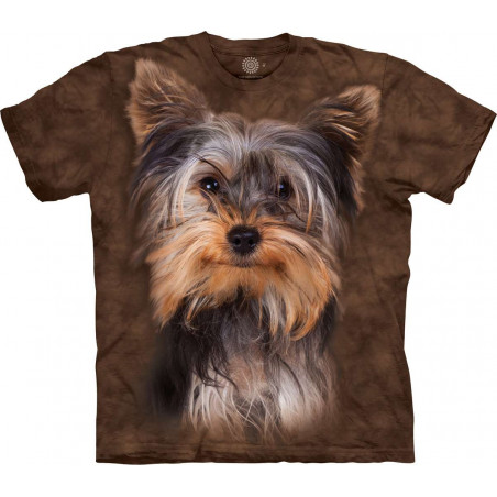 Smiling Yorkie Portrait T-Shirt