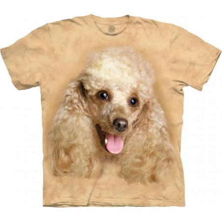 Happy Poodle Portrait T-Shirt