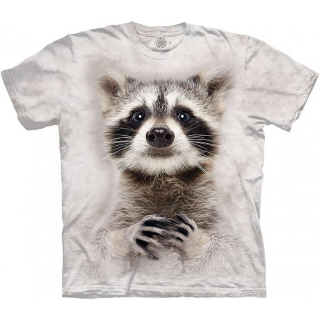 Curious Raccoon T-Shirt