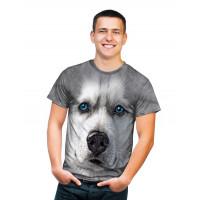 Siberian Husky Grey T-Shirt