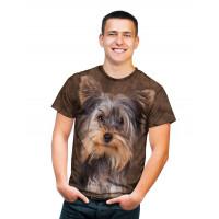 Smiling Yorkie Portrait T-Shirt