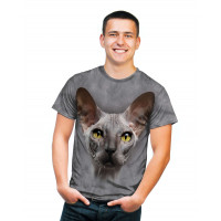 Grey Hairless T-Shirt