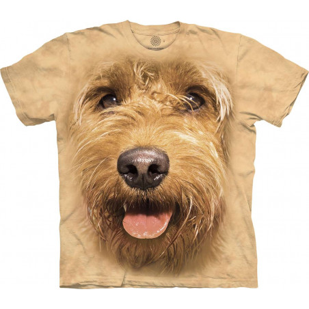 Big Face Miniature Golden Doodle T-Shirt