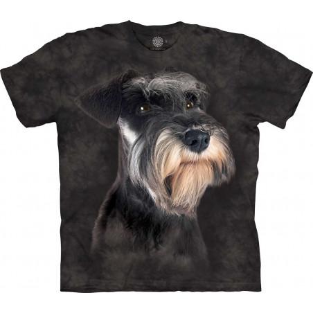 Miniature Schnauzer Portrait T-Shirt