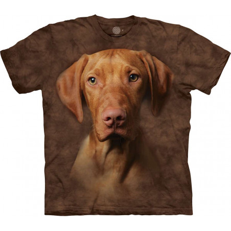Vizsla in Brown T-Shirt