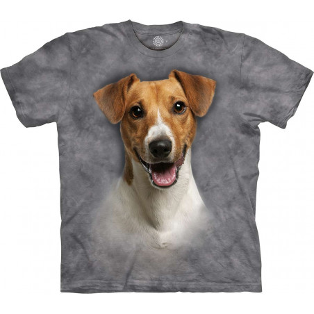 Happy Jack Russell Portrait T-Shirt