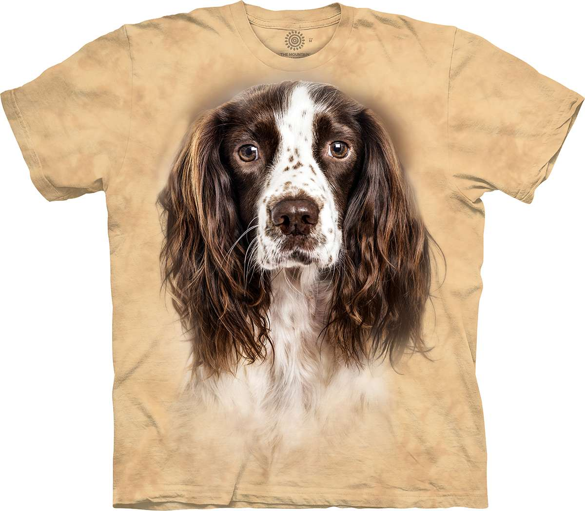 cocker spaniel t shirt warning or owner add name of dog for printing