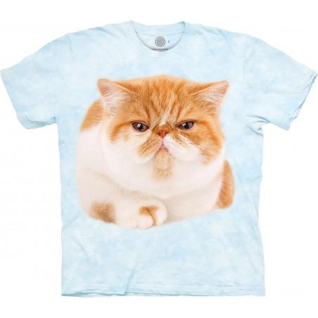 Round Orange Cat T-Shirt