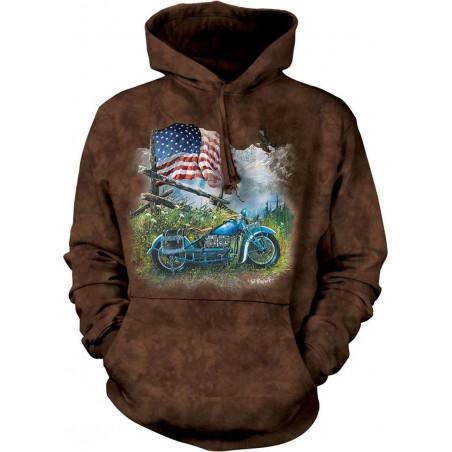 Biker Americana Hoodie