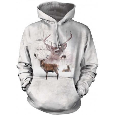 Wintertime Deer Hoodie