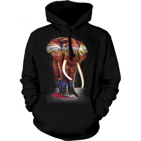 Painted Elephant Hoodie