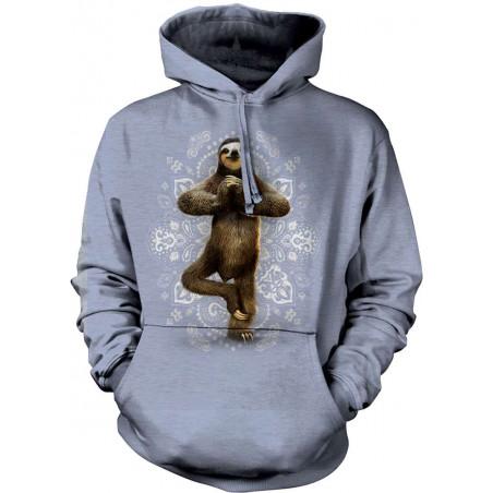 Namaste Sloth Hoodie