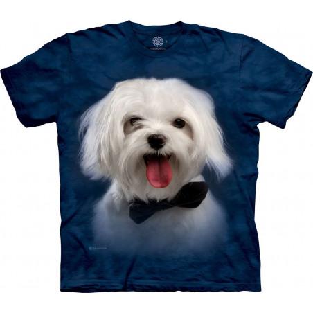 Handsome White Maltese T-Shirt