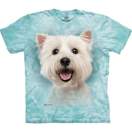 Happy White Maltese T-Shirt