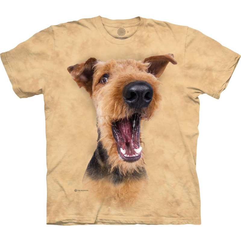 Excited Airedale Terrier T-Shirt