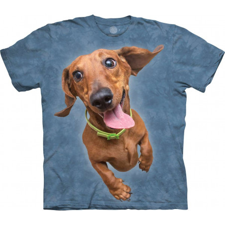 Flying Dachshund T-Shirt