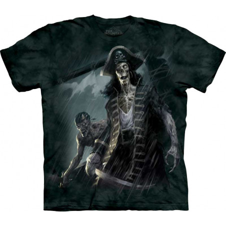 Zombie Captain T-Shirt The Mountain