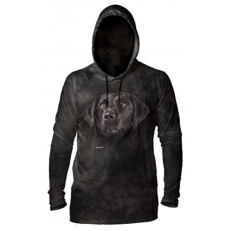 Soulful Black Lab Hoodie