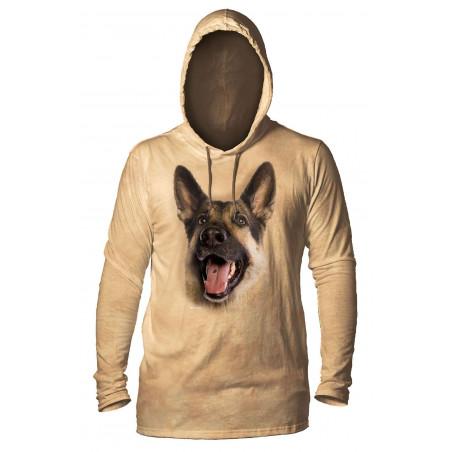 Joyful German Shepherd Hoodie