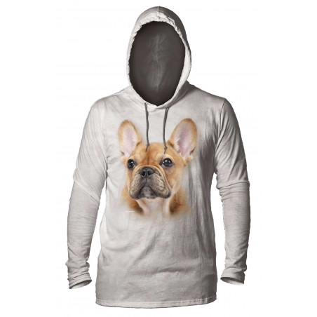 Little Frenchie Face Hoodie