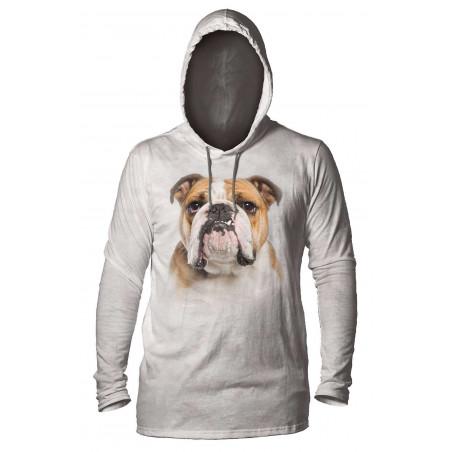 It's a Bulldog Portrait Hoodie