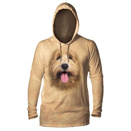 Big Face Labradoodle Pup Hoodie