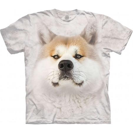 Snowy Akita T-Shirt