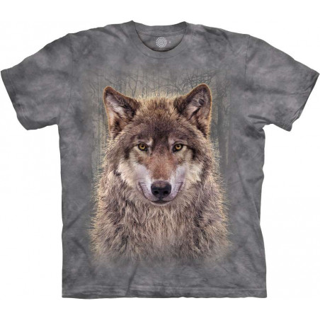 Grey Wolf Forest T-Shirt