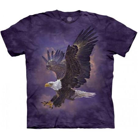 Eagle Violet Sky T-Shirt