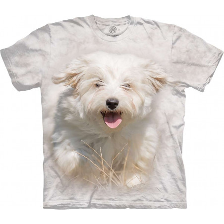 Little White Dog Run T-Shirt