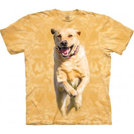 Running Yellow Dog T-Shirt