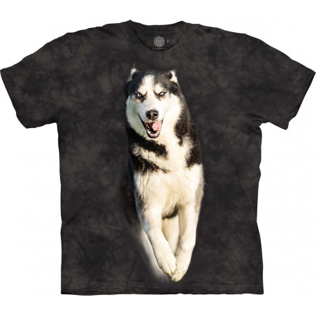 Full Husky In Motion T-Shirt