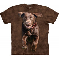 Full Galloping Dog T-Shirt