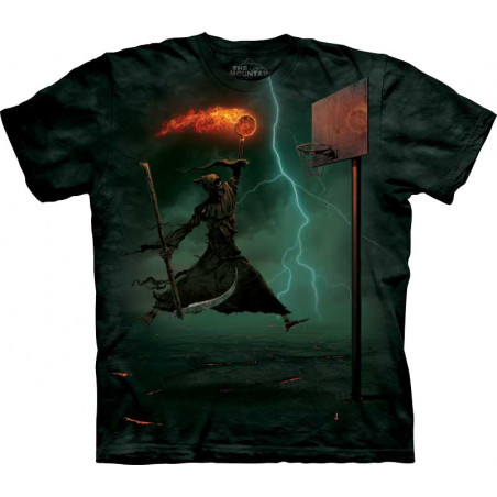 Death Does It T-Shirt The Mountain